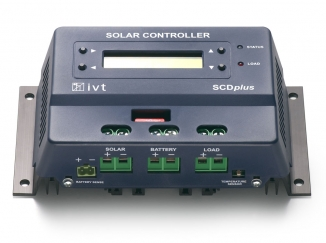 Solar-Controller SCD<i>plus</i><sup>+</sup> 12 V/24 V, 40 A mit Display