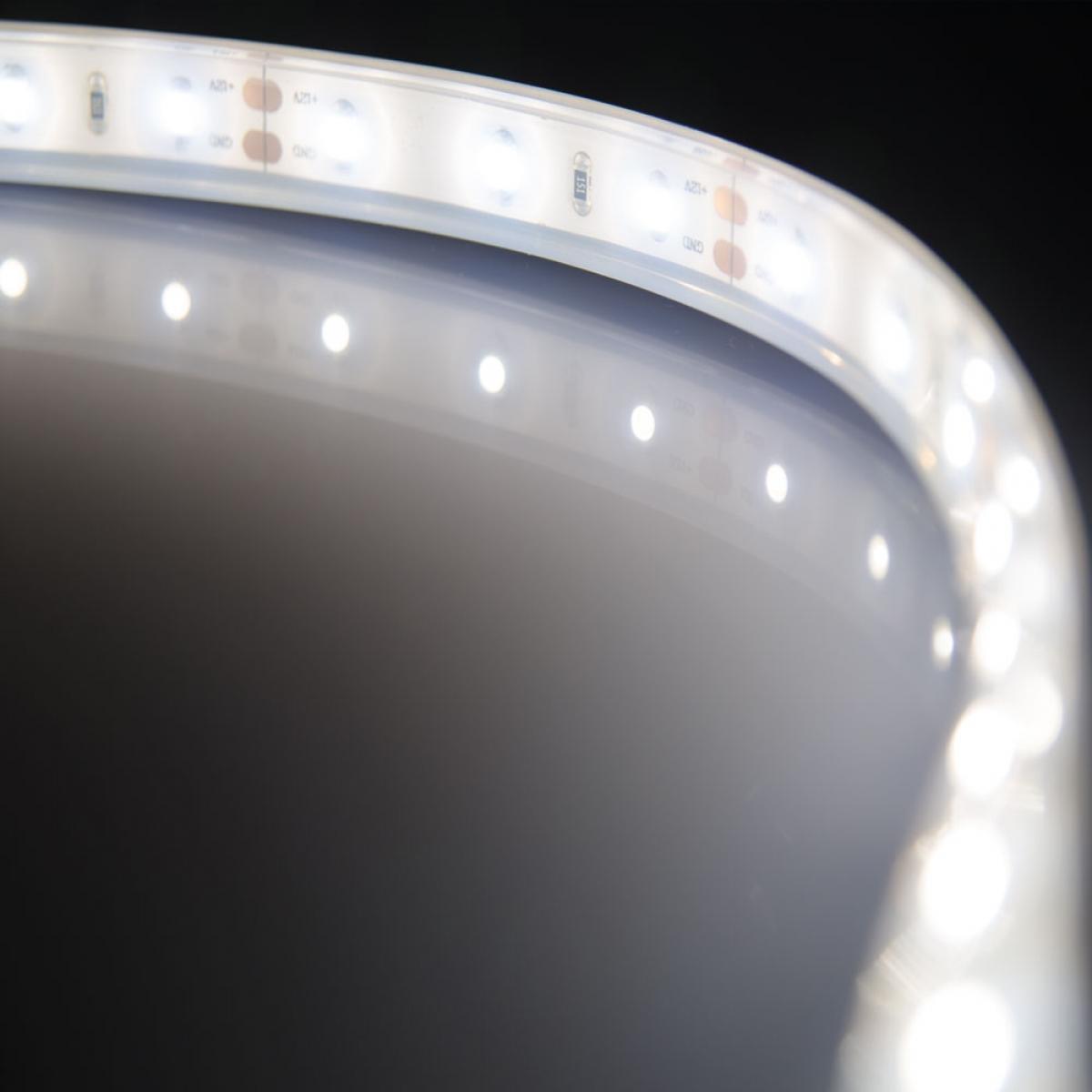 led streifen 12 v dc flexibel selbstklebend 1 m mit anschlusskabel ivt hirschau. Black Bedroom Furniture Sets. Home Design Ideas