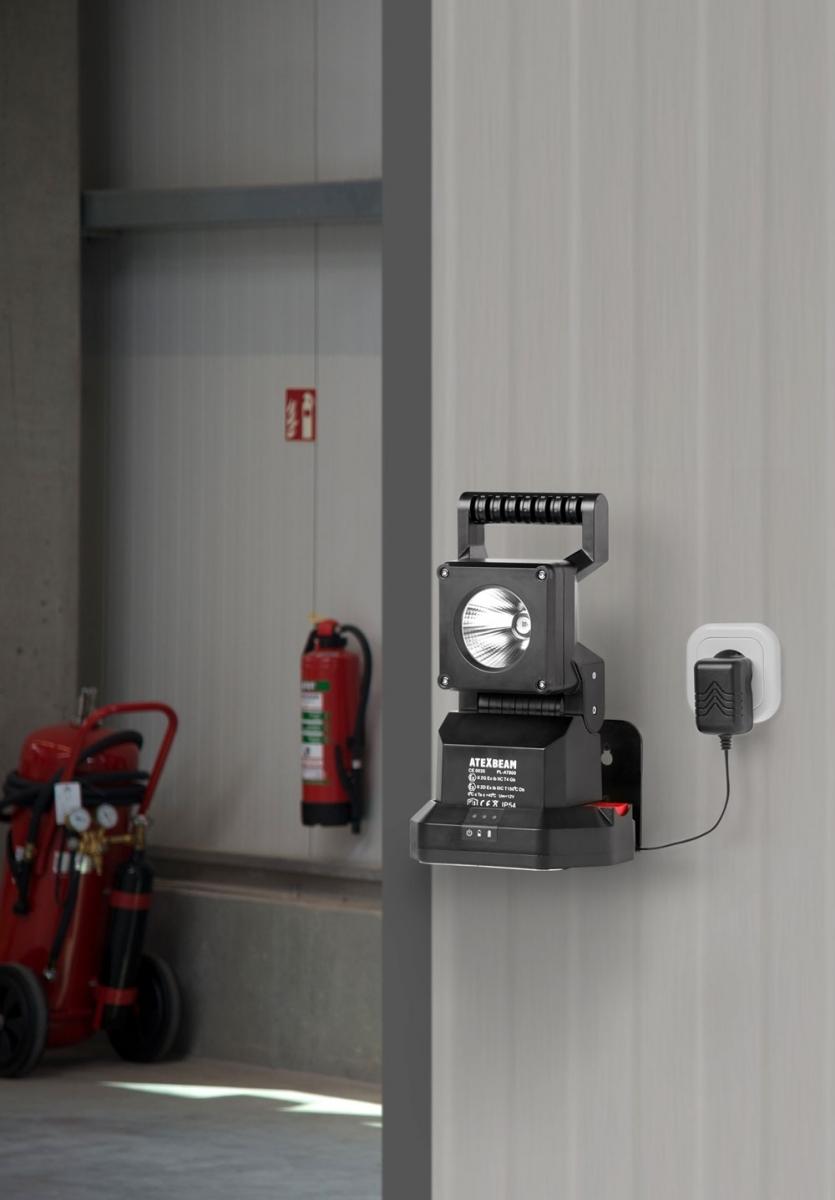Ex Protected Led Work Lamp Atexbeam Pl At800 3 W Li Ion Battery Versatile Emergency