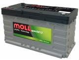 MOLL Spezial Li Batterie 12,8 V, 105 Ah, CAN 2.0 Port